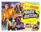 Prairie Rustlers - Movie Poster (xs thumbnail)