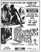 Four Dimensions of Greta - Australian poster (xs thumbnail)