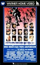 A Bridge Too Far - German VHS cover (xs thumbnail)