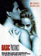 Basic Instinct - French Movie Poster (xs thumbnail)