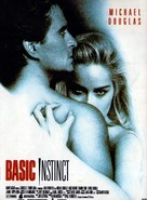 Basic Instinct - French Movie Poster (xs thumbnail)