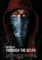Metallica Through the Never - Belgian Movie Poster (xs thumbnail)