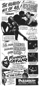 A Foreign Affair - poster (xs thumbnail)