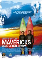Chasing Mavericks - German Movie Poster (xs thumbnail)