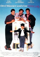 3 Men and a Little Lady - German Movie Poster (xs thumbnail)