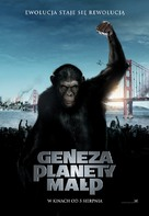 Rise of the Planet of the Apes - Polish Movie Poster (xs thumbnail)