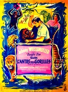 Mark of the Gorilla - French Movie Poster (xs thumbnail)