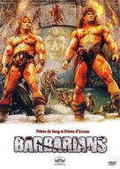 The Barbarians - French DVD cover (xs thumbnail)