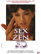 3-D Sex and Zen: Extreme Ecstasy - Italian Movie Poster (xs thumbnail)