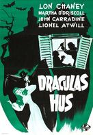 House of Dracula - Swedish Movie Poster (xs thumbnail)