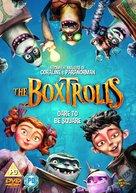 The Boxtrolls - British DVD movie cover (xs thumbnail)