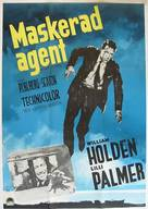 The Counterfeit Traitor - Swedish Movie Poster (xs thumbnail)
