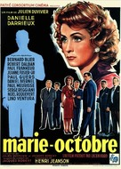 Marie-Octobre - French Movie Poster (xs thumbnail)