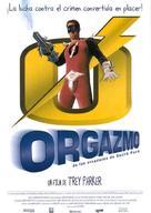 Orgazmo - Spanish Movie Poster (xs thumbnail)
