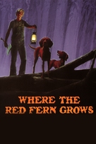 Where the Red Fern Grows - DVD cover (xs thumbnail)
