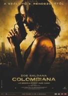 Colombiana - Hungarian Movie Poster (xs thumbnail)