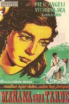 Domani è troppo tardi - Spanish Movie Poster (xs thumbnail)