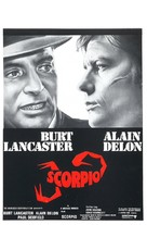 Scorpio - Belgian Movie Poster (xs thumbnail)