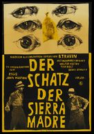 The Treasure of the Sierra Madre - German Re-release movie poster (xs thumbnail)