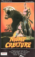 Night Creature - Finnish VHS cover (xs thumbnail)
