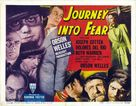 Journey Into Fear - Movie Poster (xs thumbnail)