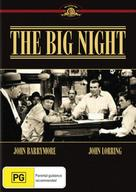 The Big Night - Australian DVD movie cover (xs thumbnail)