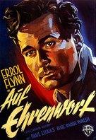 Uncertain Glory - German Movie Poster (xs thumbnail)