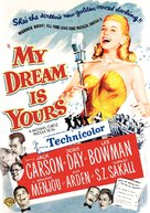 My Dream Is Yours - DVD cover (xs thumbnail)