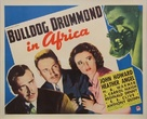 Bulldog Drummond in Africa - Movie Poster (xs thumbnail)