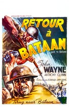 Back to Bataan - Belgian Movie Poster (xs thumbnail)