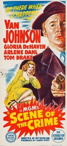 Scene of the Crime - Australian Movie Poster (xs thumbnail)