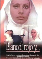 Bianco, rosso e... - Spanish VHS movie cover (xs thumbnail)
