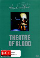 Theater of Blood - Australian DVD cover (xs thumbnail)