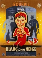 Blanc comme neige - French Movie Poster (xs thumbnail)