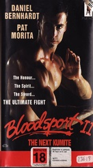 Bloodsport 2 - New Zealand VHS cover (xs thumbnail)