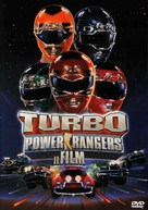 Turbo: A Power Rangers Movie - Italian DVD movie cover (xs thumbnail)