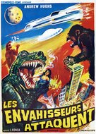 Kaijû sôshingeki - French Movie Poster (xs thumbnail)