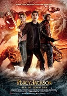 Percy Jackson: Sea of Monsters - Saudi Arabian Movie Poster (xs thumbnail)
