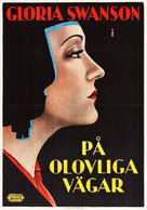 The Trespasser - Swedish Movie Poster (xs thumbnail)