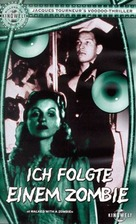 I Walked with a Zombie - German VHS cover (xs thumbnail)