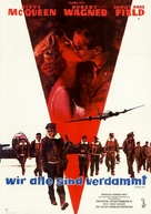 The War Lover - German Movie Poster (xs thumbnail)