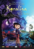 Coraline - Czech Movie Poster (xs thumbnail)