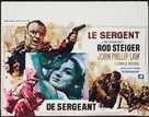 The Sergeant - Belgian Movie Poster (xs thumbnail)