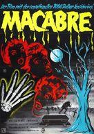 Macabre - German Movie Poster (xs thumbnail)