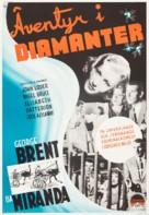 Adventure in Diamonds - Swedish Movie Poster (xs thumbnail)