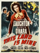 This Land Is Mine - Movie Poster (xs thumbnail)