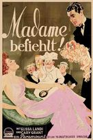 Enter Madame - German Movie Poster (xs thumbnail)