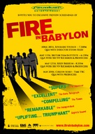 Fire in Babylon - British Movie Poster (xs thumbnail)