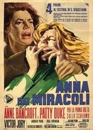 The Miracle Worker - Italian Movie Poster (xs thumbnail)