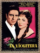 La violetera - French Movie Poster (xs thumbnail)